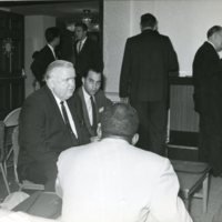 Herb Brand, Paul Hall at 11th SIU Convention, 1963