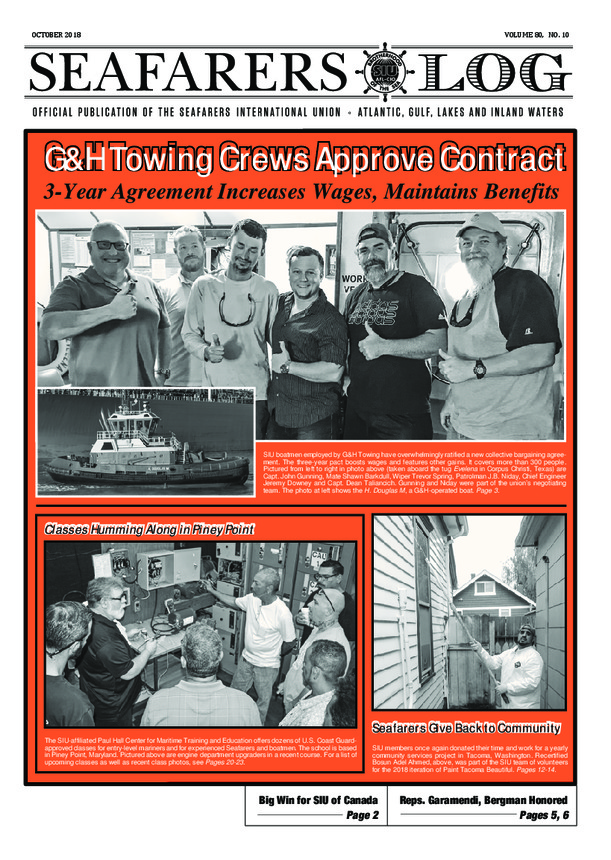 G&H Towing Crews Approve Contract