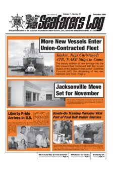 More New Vessels Enter Union-Contracted Fleet
