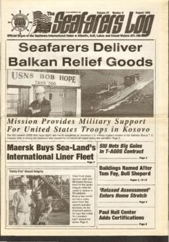 Seafarers Deliver Balkan Relief Goods