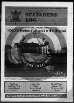 Browse Items · Seafarers Log Digital Archives